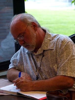 Dennis Baxter Writing a book